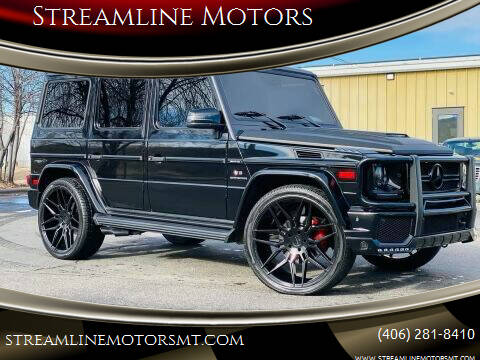 2005 Mercedes-Benz G-Class for sale at Streamline Motors in Billings MT