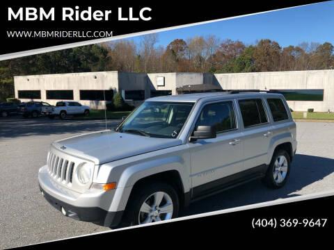 2012 Jeep Patriot for sale at MBM Rider LLC in Alpharetta GA