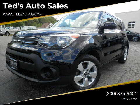 2017 Kia Soul for sale at Ted's Auto Sales in Louisville OH