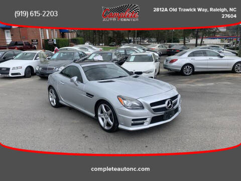 2013 Mercedes-Benz SLK for sale at Complete Auto Center , Inc in Raleigh NC