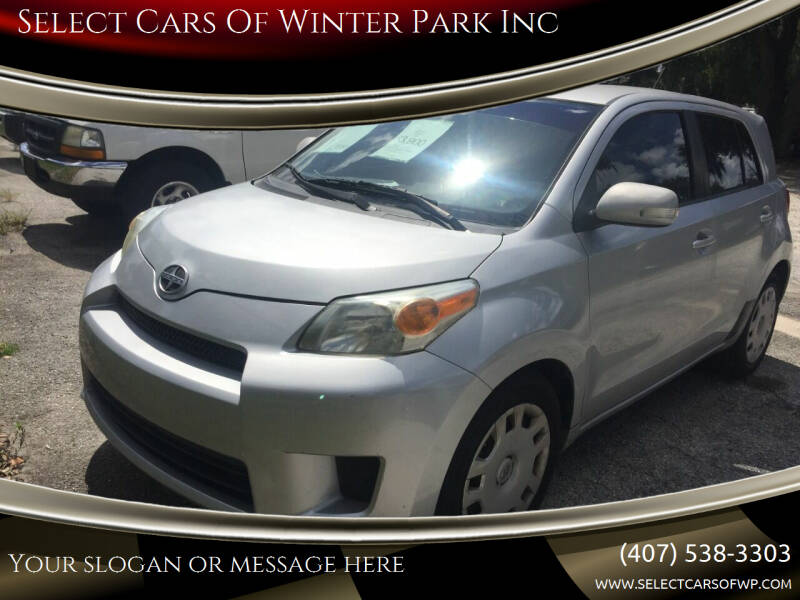 2008 Scion xD for sale at Select Cars Of Winter Park Inc in Orlando FL