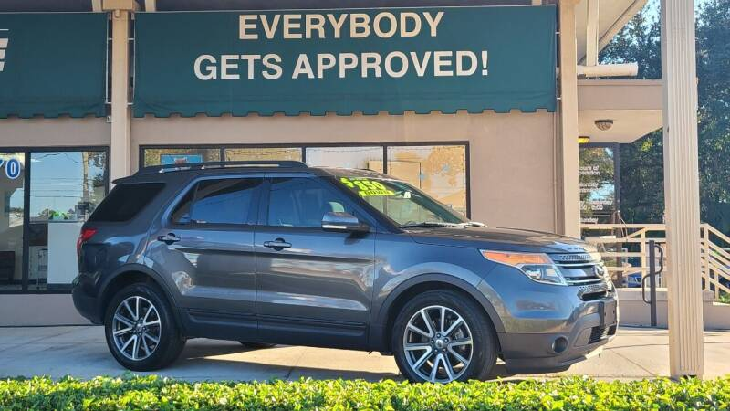 2015 Ford Explorer for sale at Dunn-Rite Auto Group in Longwood FL