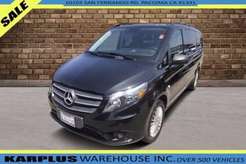 2018 Mercedes-Benz Metris for sale at Karplus Warehouse in Pacoima CA