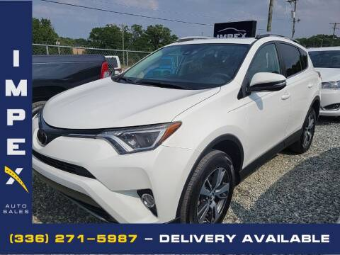 2018 Toyota RAV4 for sale at Impex Auto Sales in Greensboro NC