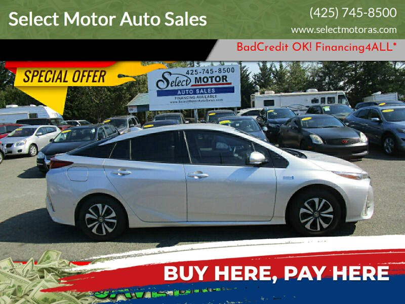 2017 Toyota Prius Prime for sale at Select Motor Auto Sales in Lynnwood WA