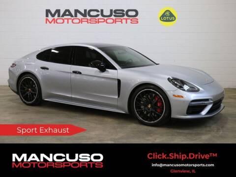 2018 Porsche Panamera for sale at Mancuso Motorsports in Glenview IL