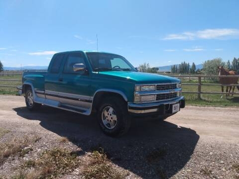 1994 Chevrolet C/K 1500 Series for sale at Kevs Auto Sales in Helena MT