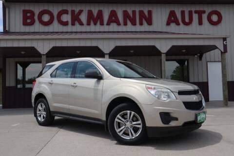 2011 Chevrolet Equinox for sale at Bockmann Auto Sales in Saint Paul NE