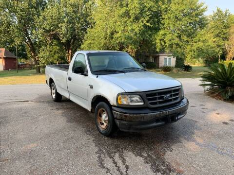 2002 Ford F-150 for sale at CARWIN MOTORS in Katy TX