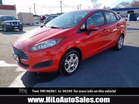2015 Ford Fiesta for sale at Hi-Lo Auto Sales in Frederick MD
