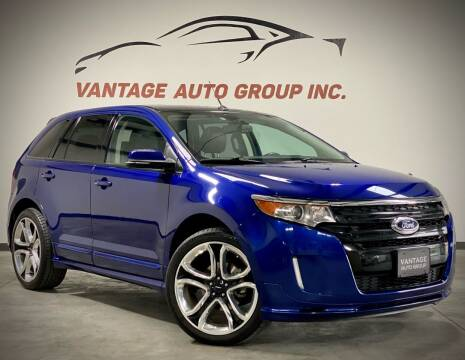 2013 Ford Edge for sale at Vantage Auto Group Inc in Fresno CA
