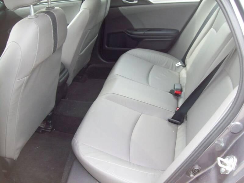 2019 Honda Civic EX-L 4dr Sedan - Milford NH