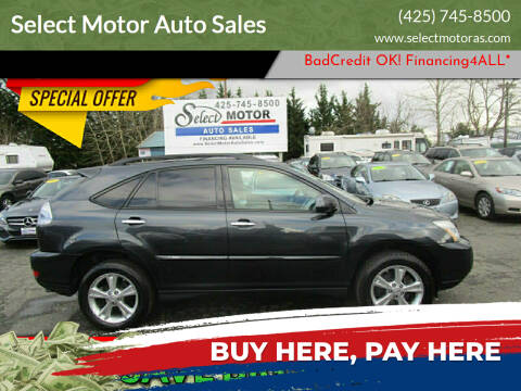 2008 Lexus RX 400h for sale at Select Motor Auto Sales in Lynnwood WA