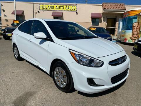 2016 Hyundai Accent for sale at HEILAND AUTO SALES in Oceano CA
