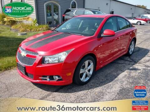 2012 Chevrolet Cruze for sale at ROUTE 36 MOTORCARS in Dublin OH
