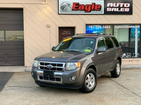 2010 Ford Escape for sale at Eagle Auto Sales LLC in Holbrook MA