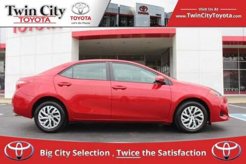 2018 Toyota Corolla for sale at Twin City Toyota in Herculaneum MO
