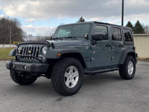 2014 Jeep Wrangler Unlimited for sale at Alexandria Auto Mart LLC in Alexandria PA