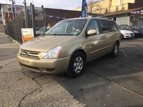 2010 Kia Sedona for sale at Rallye  Motors inc. in Newark NJ