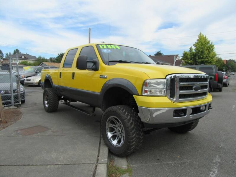 2007 Ford F-250 Super Duty for sale at Car Link Auto Sales LLC in Marysville WA