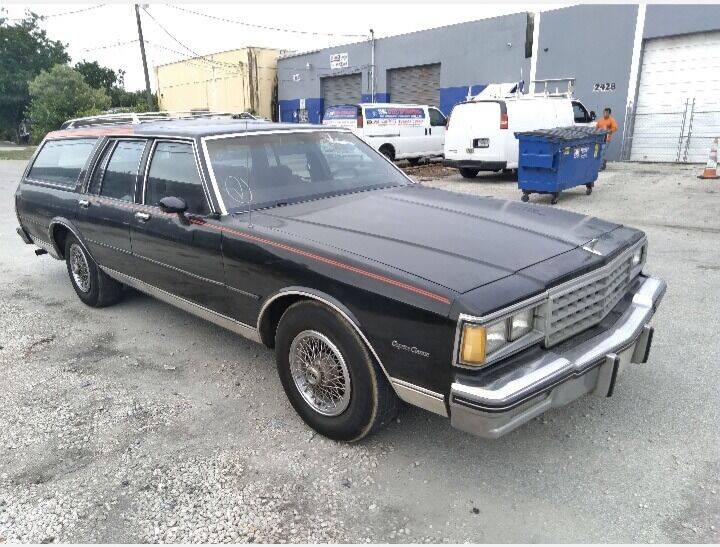 1984 Chevrolet Caprice for sale at Car Mart Leasing & Sales in Hollywood FL