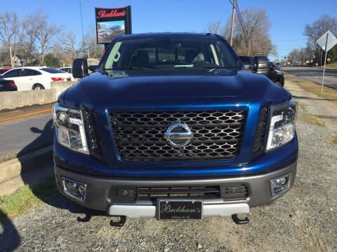 2016 Nissan Titan XD for sale at Beckham's Used Cars in Milledgeville GA