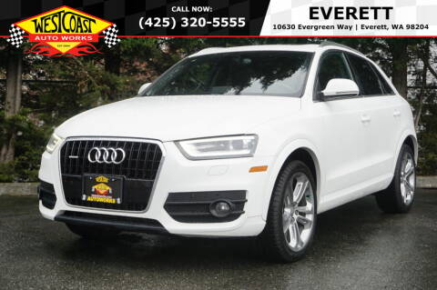 2015 Audi Q3 for sale at West Coast Auto Works in Edmonds WA