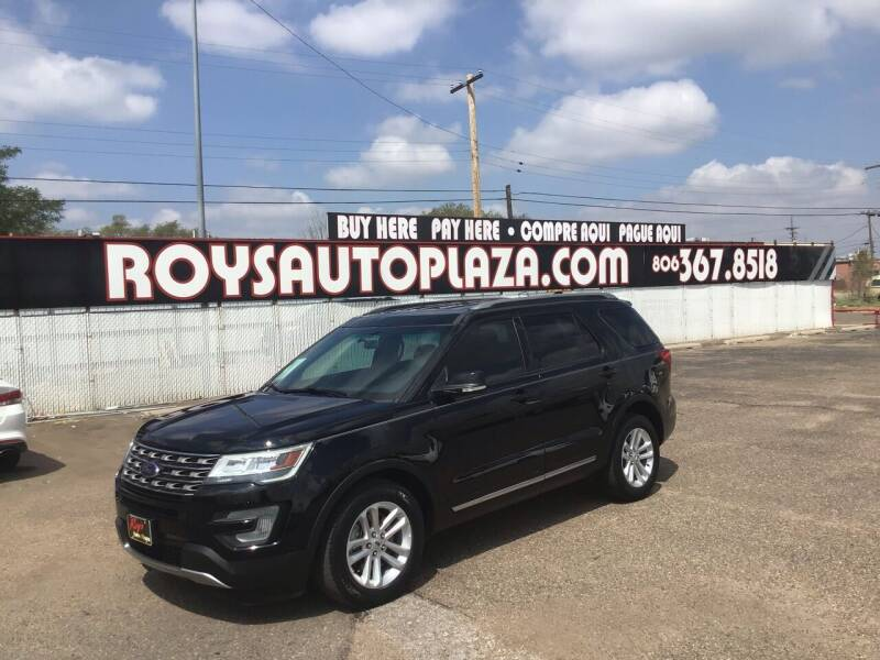 2017 Ford Explorer for sale at Roy's Auto Plaza 2 in Amarillo TX