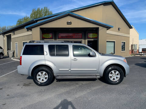 2006 Nissan Pathfinder for sale at Advantage Auto Sales in Garden City ID