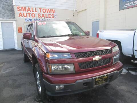 2009 Chevrolet Colorado for sale at Small Town Auto Sales in Hazleton PA
