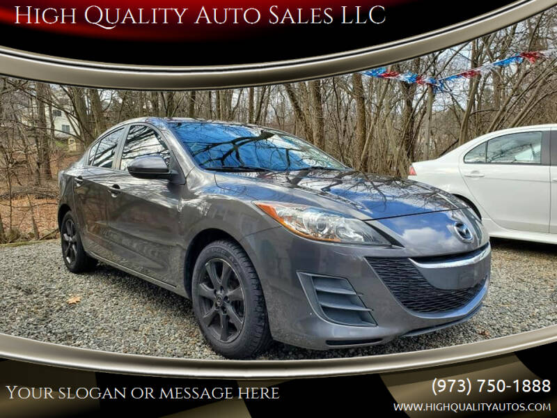 2010 Mazda MAZDA3 for sale at High Quality Auto Sales LLC in Bloomingdale NJ