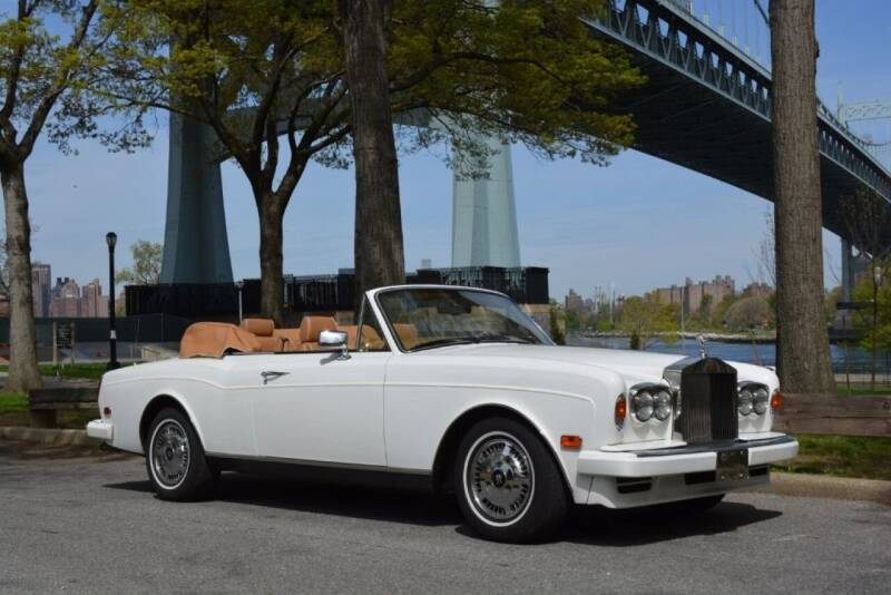 1995 Rolls-Royce Corniche for sale at Gullwing Motor Cars Inc in Astoria NY