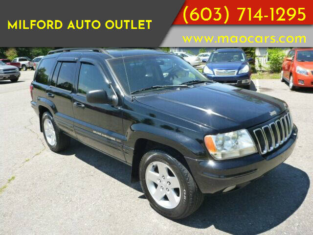2002 Jeep Grand Cherokee for sale at Milford Auto Outlet in Milford NH