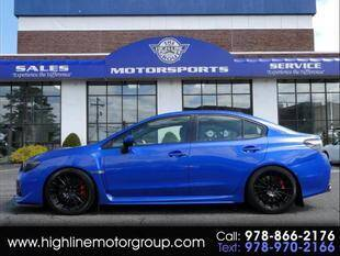 2017 Subaru WRX for sale at Highline Group Motorsports in Lowell MA