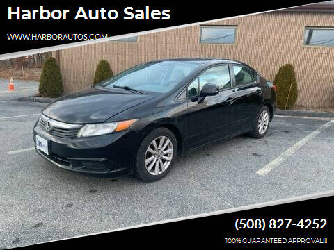 2012 Honda Civic for sale at Harbor Auto Sales in Hyannis MA