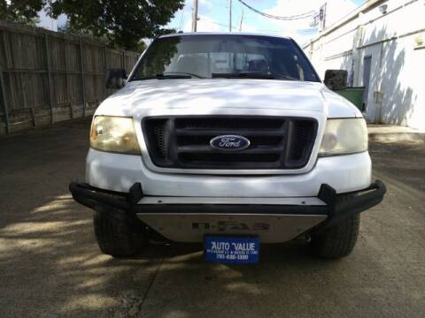 2008 Ford F-150 for sale at AUTO VALUE FINANCE INC in Stafford TX