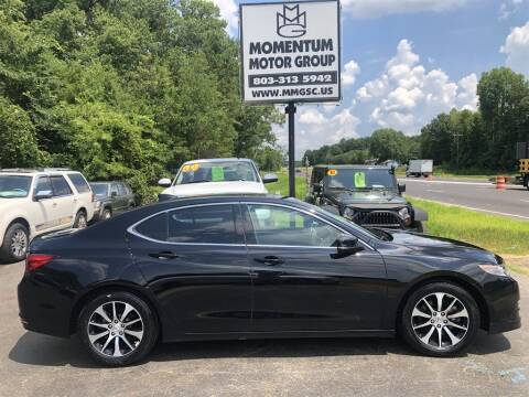 2016 Acura TLX for sale at Momentum Motor Group in Lancaster SC
