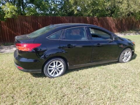 2018 Ford Focus for sale at El Jasho Motors in Grand Prairie TX