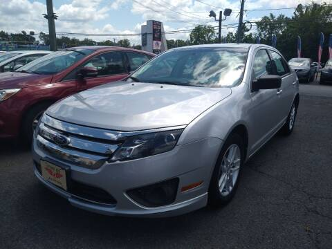 2012 Ford Fusion for sale at P J McCafferty Inc in Langhorne PA