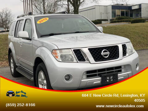 2012 Nissan Pathfinder for sale at New Circle Auto Sales LLC in Lexington KY