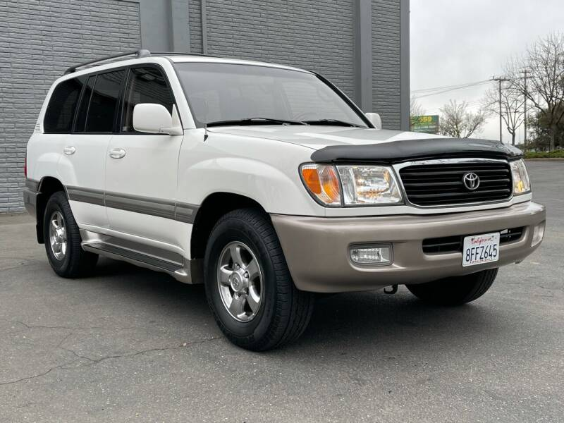 2002 Toyota Land Cruiser for sale at COUNTY AUTO SALES in Rocklin CA