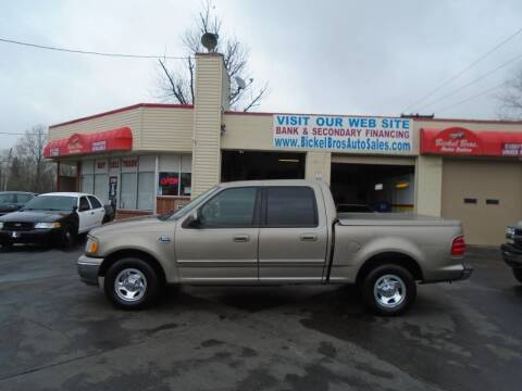 2003 Ford F-150 for sale at Bickel Bros Auto Sales, Inc in Louisville KY