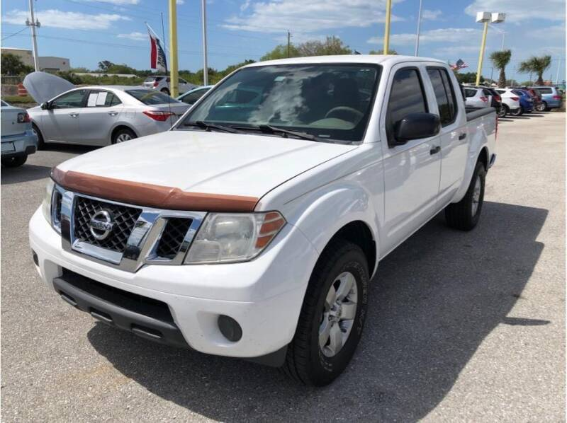 2012 Nissan Frontier for sale at My Value Car Sales in Venice FL