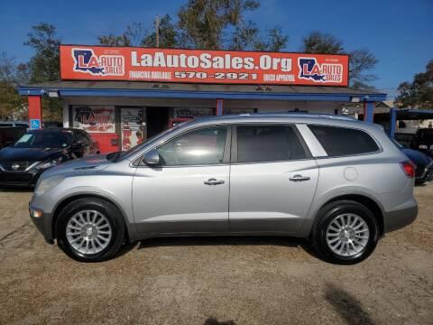 2011 Buick Enclave for sale at LA Auto Sales in Monroe LA