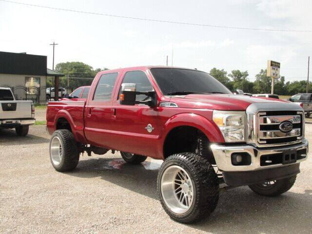 2013 Ford F-250 Super Duty for sale at Frieling Auto Sales in Manhattan KS