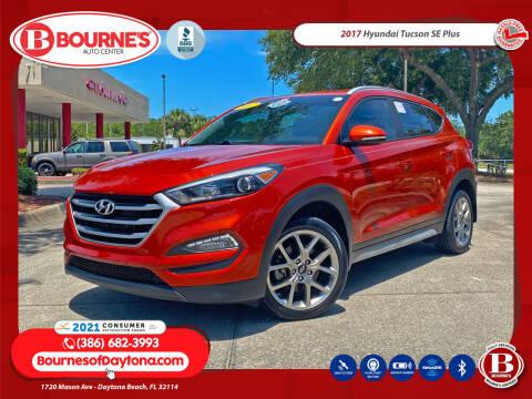 2017 Hyundai Tucson for sale at Bourne's Auto Center in Daytona Beach FL