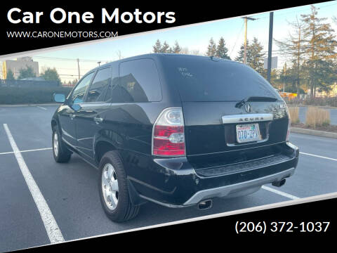 2006 Acura MDX for sale at Car One Motors in Seattle WA