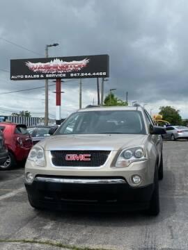 2012 GMC Acadia for sale at Washington Auto Group in Waukegan IL