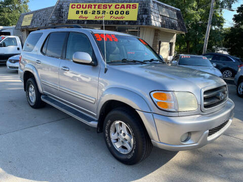 2002 Toyota Sequoia for sale at Courtesy Cars in Independence MO