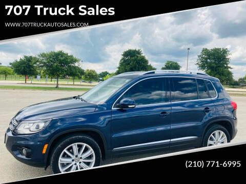 2016 Volkswagen Tiguan for sale at 707 Truck Sales in San Antonio TX